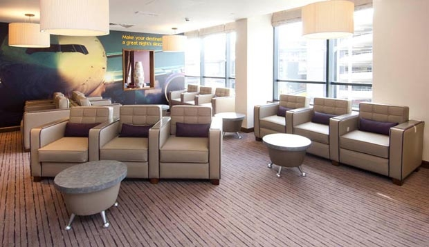 Reception at Premier Inn London Gatwick Airport (North Terminal)