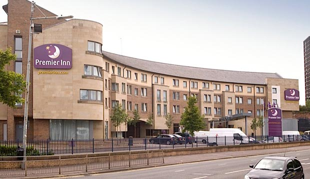 Exterior of Premier Inn Glasgow City Centre South