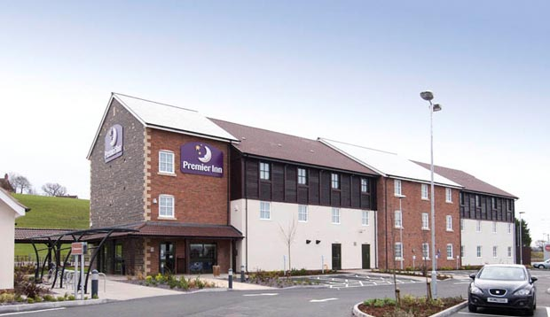 Exterior at Premier Inn Glastonbury