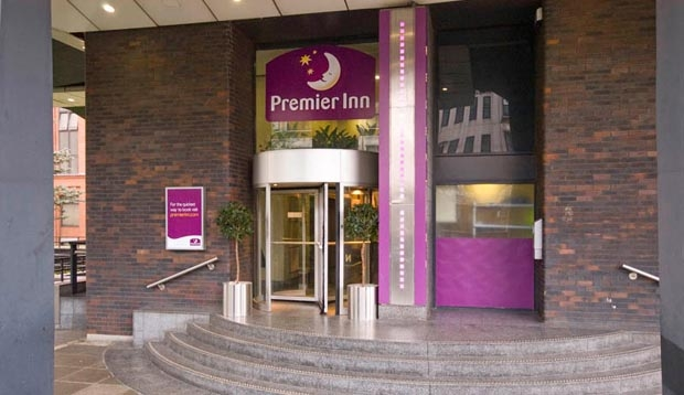 Reception at Premier Inn Glasgow City Centre (Charing Cross)