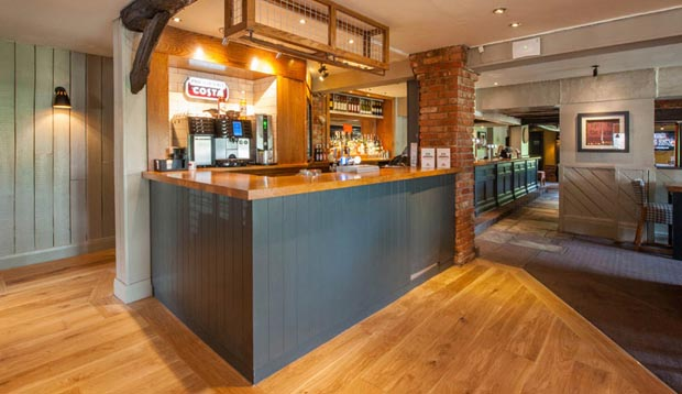 Coffee shop at Premier Inn Gloucester (Little Witcombe)