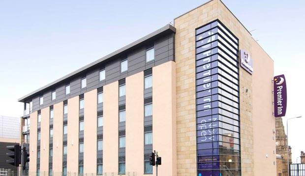 Exterior at Premier Inn Halifax Town Centre