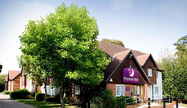 Exterior at Premier Inn Harlow showing surrounding area