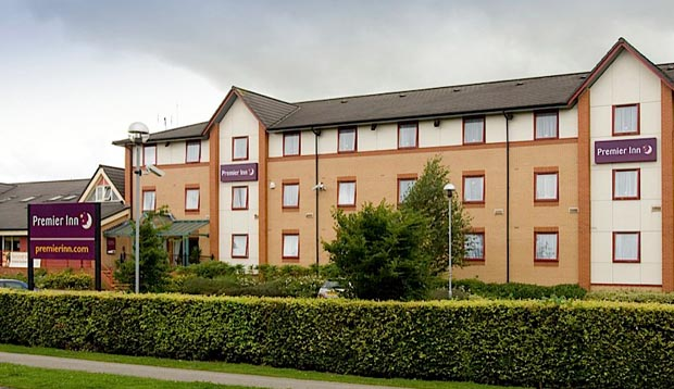 Exterior at Premier Inn Harrogate South
