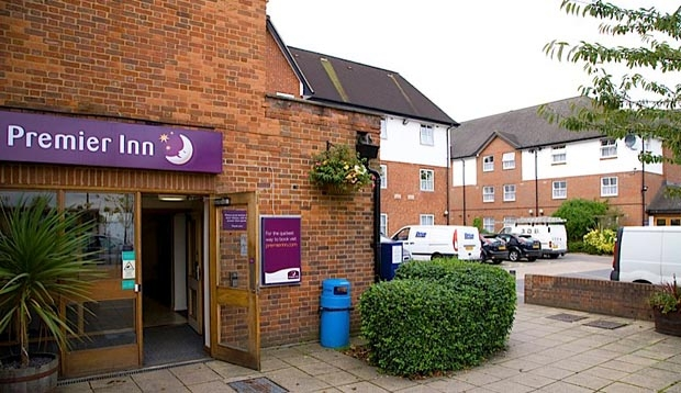 Exterior at Premier Inn London Harrow