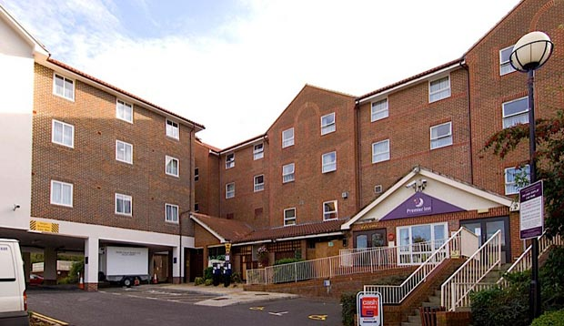 Exterior at Premier Inn Hastings