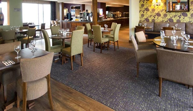 Restaurant at Premier Inn London Heathrow Airport Terminal 5