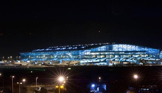 Exterior of Heathrow Terminal 5