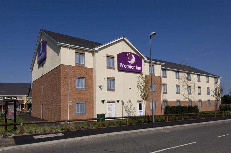 Exterior at Premier Inn Herne Bay