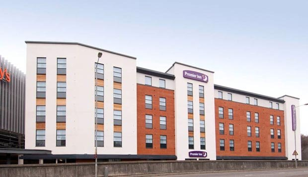 Exterior at Premier Inn High Wycombe Central