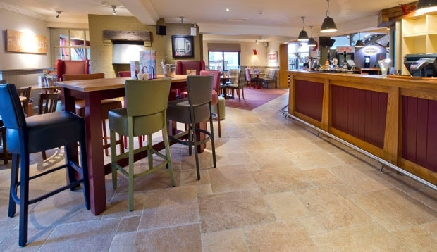 Bar area at Premier Inn Hinckley