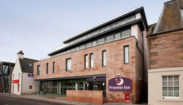 Exterior of Premier Inn Hotel Inverness Centre (River Ness)