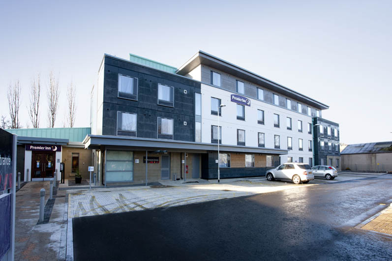 Exterior of Premier Inn Inverness West