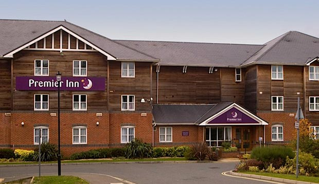 Exterior of Premier Inn Hotel Isle of Wight Newport