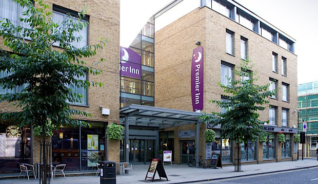 Exterior at Premier Inn London Kings Cross
