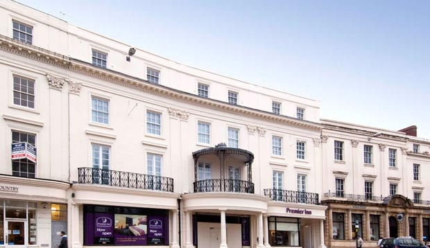 Surrounding area at Premier Inn Leamington Spa Town Centre