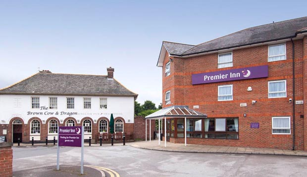 Exterior at Premier Inn Leeds East hotel