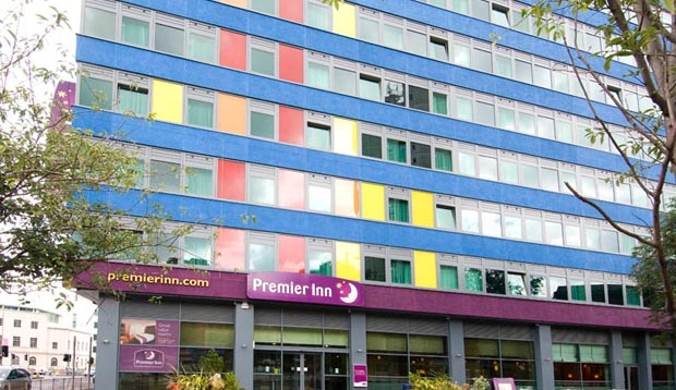 Exterior at Premier Inn Leicester City Centre