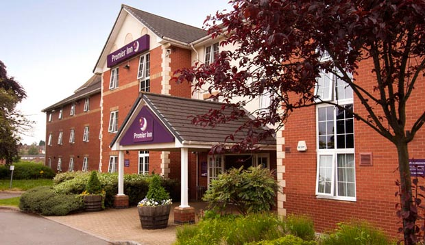 Exterior at Premier Inn Leicester Central (A50)