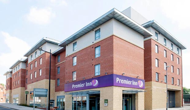 Exterior at Premier Inn Lincoln City Centre