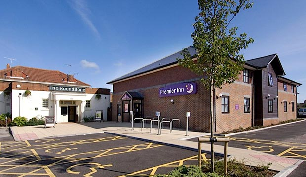 Exterior at Premier Inn Littlehampton