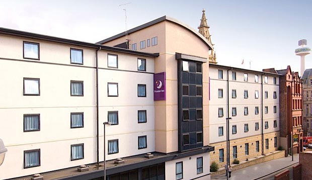 Exterior at Premier Inn Liverpool City Centre (Moorfields)