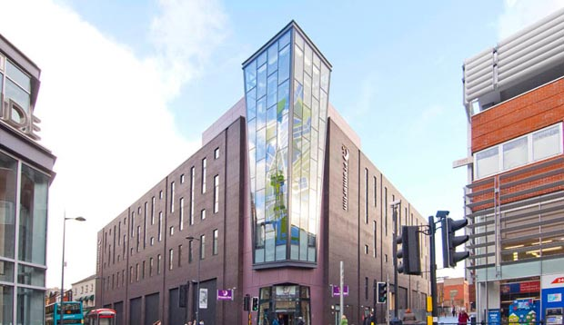 Exterior at Premier Inn Liverpool City Centre (Liverpool One)