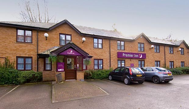 Car park at Premier Inn Liverpool Rainhill
