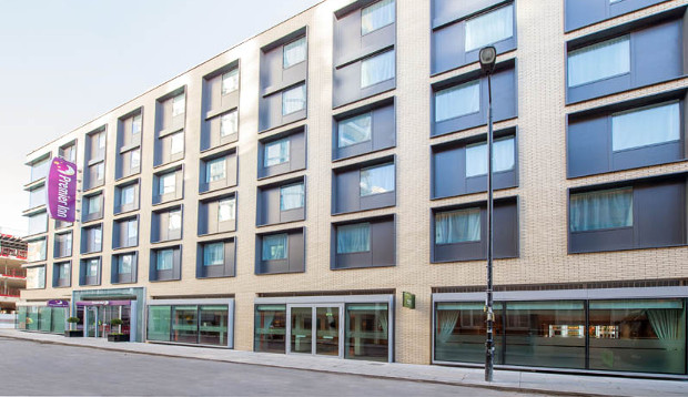 Exterior at Premier Inn London City (Aldgate) hotel