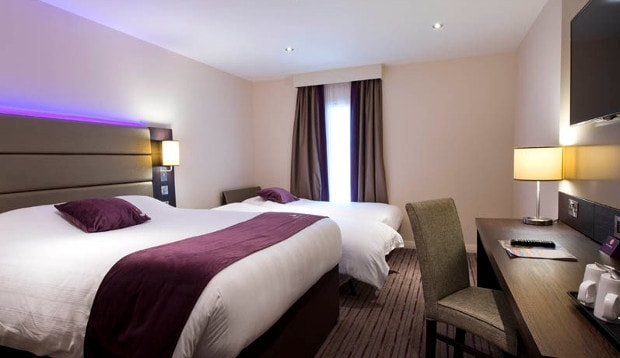 Family room at Premier Inn Brixton hotel