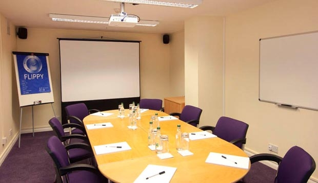 Meeting room at Premier Inn London County Hall
