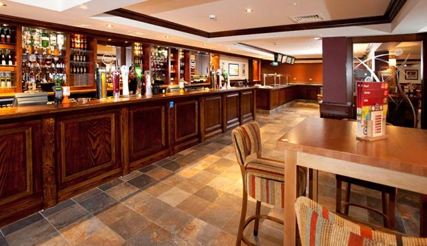 Bar area at Premier Inn Derry / Londonderry hotel