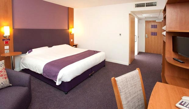 Double room at Premier Inn Derry / Londonderry hotel