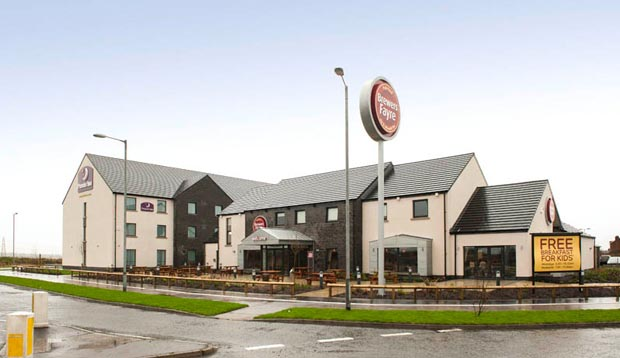 Exterior at Premier Inn Derry / Londonderry hotel