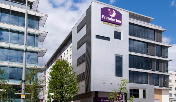 Exterior at Premier Inn London Ealing