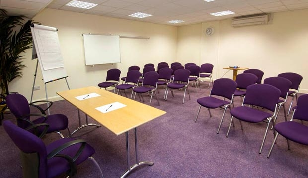 Meeting room at Premier Inn London Euston hotel