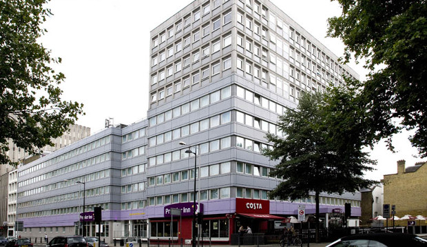 Surrounding area at Premier Inn London Euston hotel