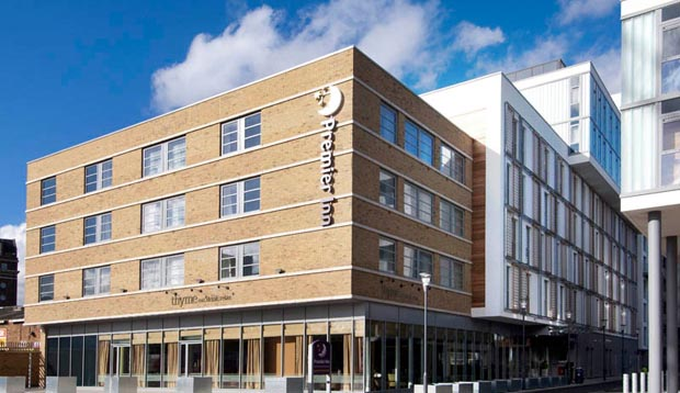 Exterior at Premier Inn London Greenwich