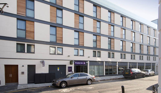 Exterior at Premier Inn London Angel Islington hotel