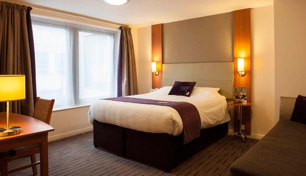 Double room at Premier Inn London Bank (Tower)