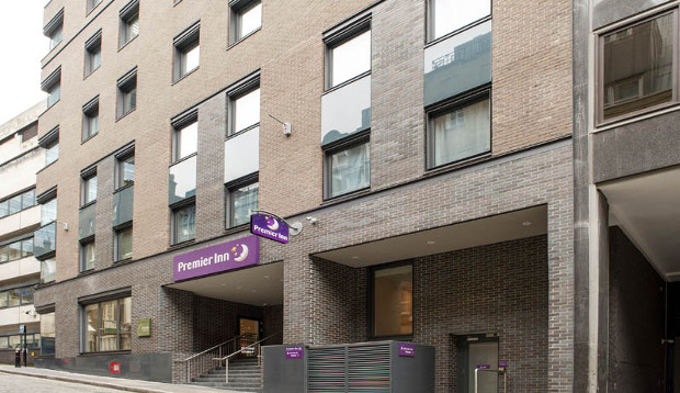 Exterior at Premier Inn London Bank (Tower)