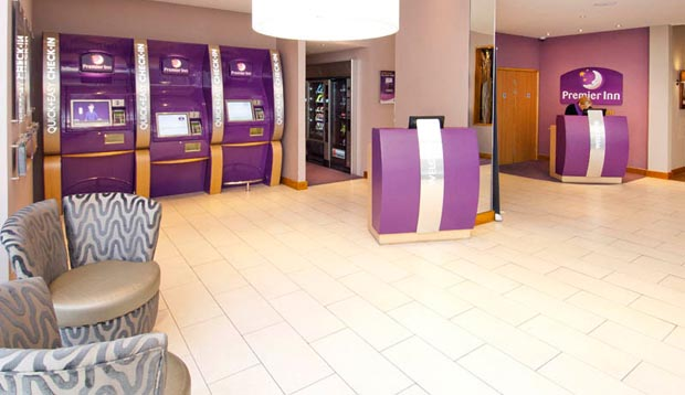 Reception at Premier Inn London City (Old Street)