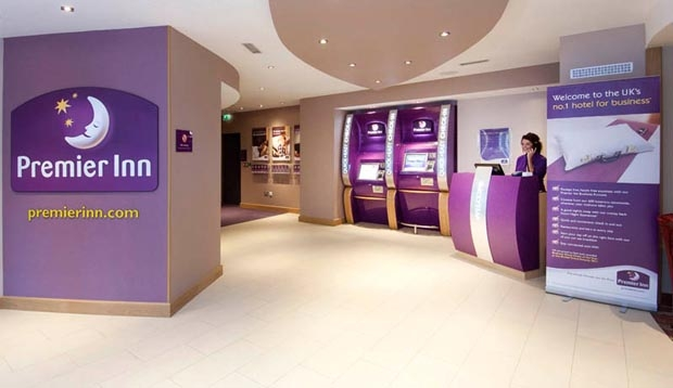Reception at Premier Inn London Richmond
