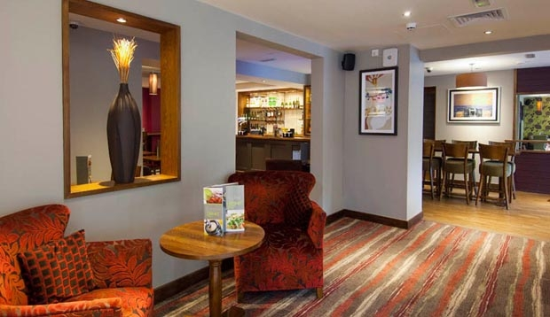 Restaurant area at Premier Inn London Richmond