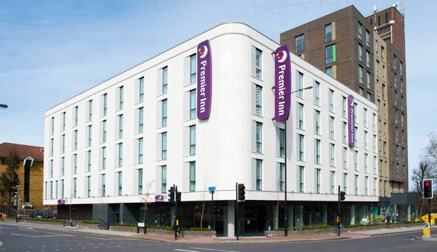 Exterior at Premier Inn London Sidcup
