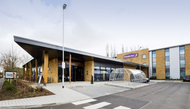 Exterior of Premier Inn London Uxbridge hotel