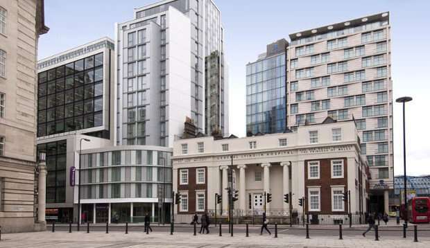 Surrounding area at Premier Inn London Waterloo (Westminster Bridge) hotel