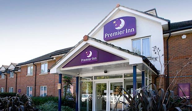 Exterior of Premier Inn Loughton/Buckhurst Hill hotel