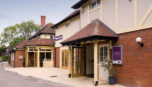 Exterior at Premier Inn Lymington (New Forest, Hordle) hotel