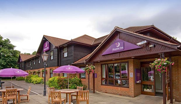 Exterior at Premier Inn Maidstone (Leybourne) hotel